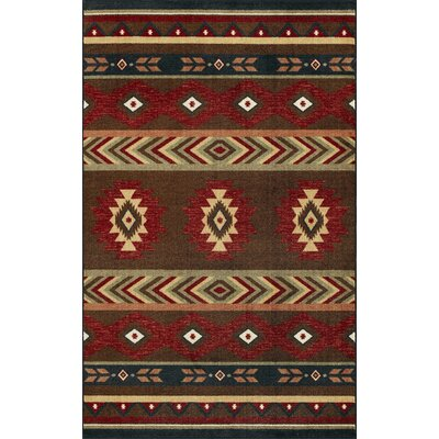 Santa Fe Chocolate Stripe Rug