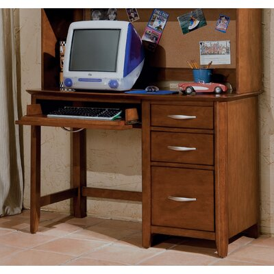 "Standard Furniture Village Craft 47"" W Computer Desk and Hutch Set"