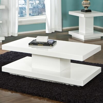 Standard Furniture Meridian Coffee Table with Casters