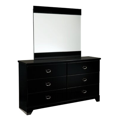 Standard Furniture Meridian 6 Drawer Dresser