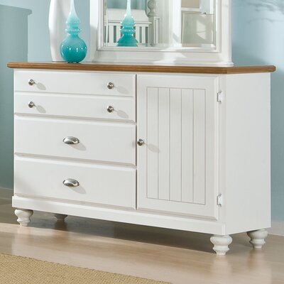 Standard Furniture Sunset Hill 4 Drawer Combo Dresser
