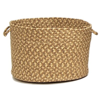 Colonial Mills Valencia Roasted Chestnut Utility Basket