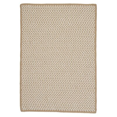 Colonial Mills Outdoor Houndstooth Tweed Cuban Sand Rug