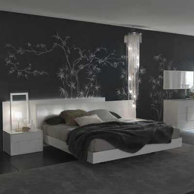 Rossetto USA Nightfly Platform Bedroom Collection