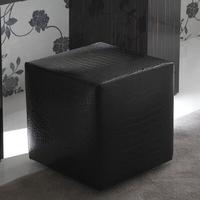 Rossetto USA Nightfly Pouf Cube Ottoman