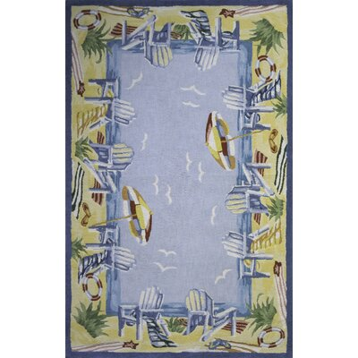 Coastal At The Beach Novelty Rug