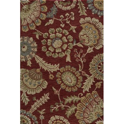 Momeni Summit Brick Bold Floral Rug