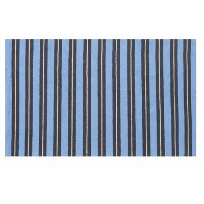 The Rug Market Resort Spindle Stripe Blue / Yellow Rug