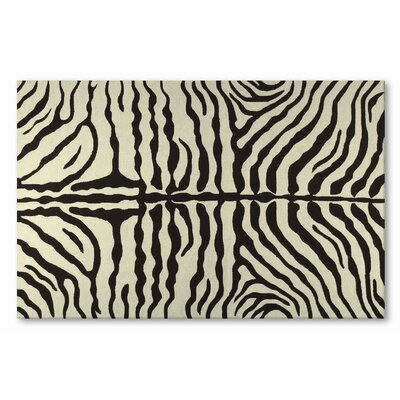 Resort Brown Zebra Rug