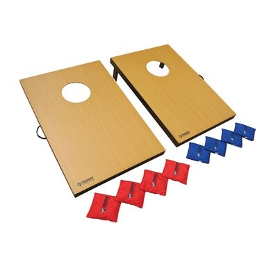 2 in 1 Bag Toss Tournament and 3 Hole Washer Toss Game Set