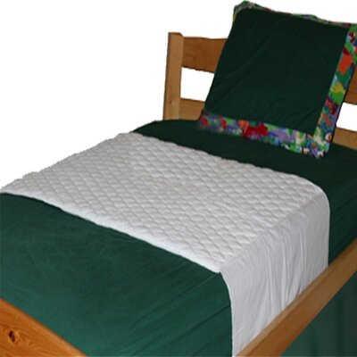 Mom Innovations Saddle Style Mattress Pad for Twin Bed