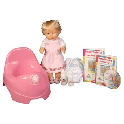 Potty Training in One Day - The Basic System for Girls with DVD