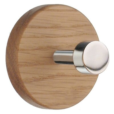 Smedbo Beslagsboden Rounded Oak Coat Hook