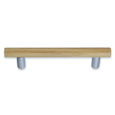 Smedbo Beslagsboden Oak Drawer Pull Brushed Chrome
