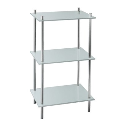 Smedbo Outline Bathroom Shelf in Polished Chrome