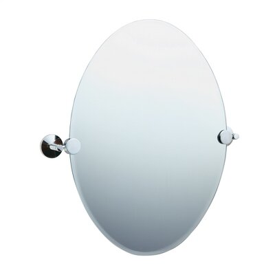 Smedbo Studio Oval Beveled Edge Mirror