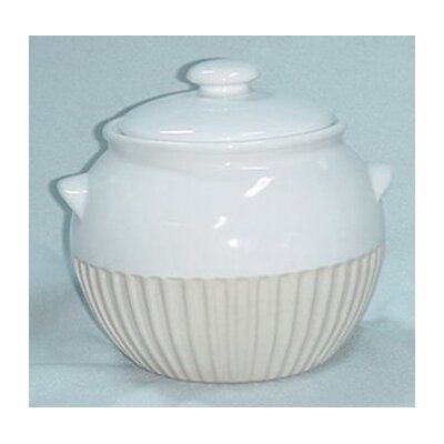 Reco Bean Pot in White