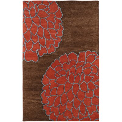 Surya Rug Artist Studio Brown/Sky Red Rug