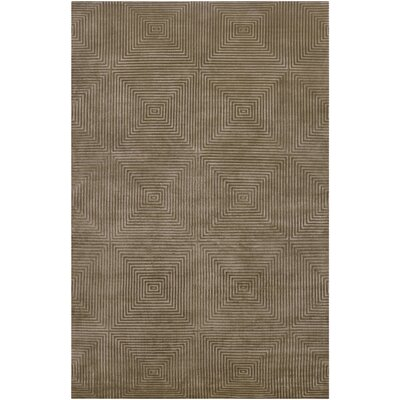 Luminous Olive / Silver Olive Contemporary Rug