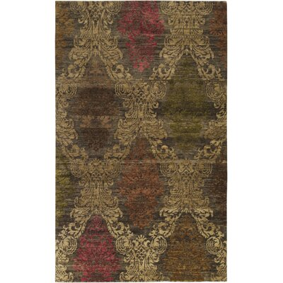 Surya Rug Brocade Brown Rug
