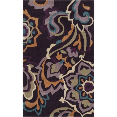 Surya Rug Cosmopolitan Red Grape Rug