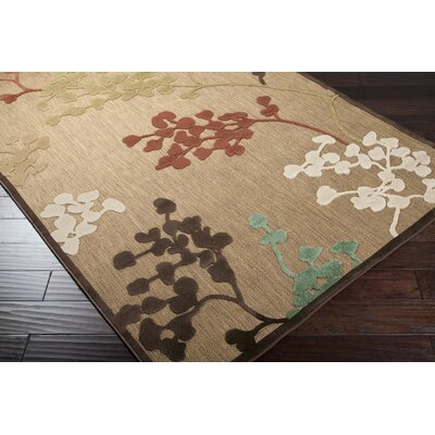 Surya Rug Portera Brown Sugar/Slate Gray Rug