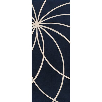 Forum Dark Blue/Antique White Rug