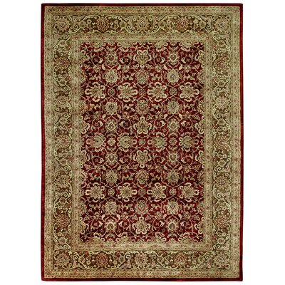 Capel Rugs Forest Park Dark Red Meshed Rug