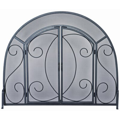 Uniflame Corporation Wrought Iron Ornate Fireplace Screen