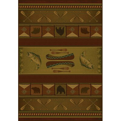 United Weavers of America Genesis Colorado Lodge Novelty Rug