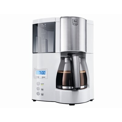 Melitta 850W Kaffeeautomat &quot;Optima 100801wh&quot;