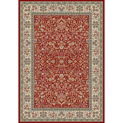Dynamic Rugs Ancient Garden Red/Ivory Rug