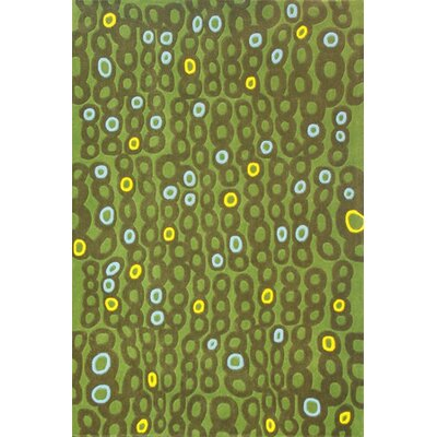 Foreign Accents Festival Green Rug