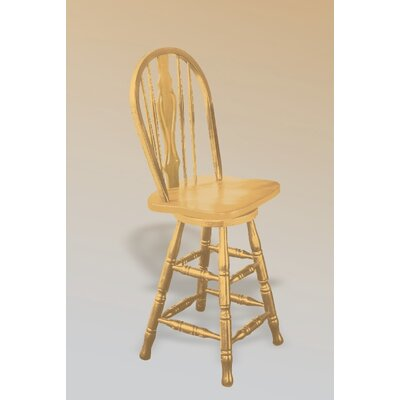 Sunset Trading Sunset Selections Counter Height Keyhole Barstool