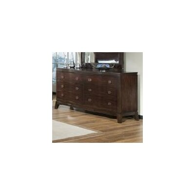Sunset Trading Alexandra 6 Drawer Dresser