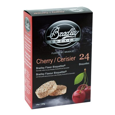 Bradley Smoker Cherry Flavor Bisquettes (Set of 24)