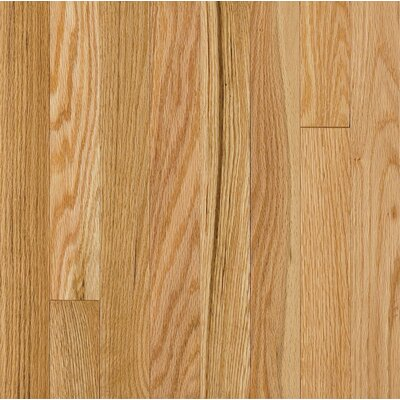 "Armstrong Somerset Strip 2-1/4"" Solid Oak in Large Natural"