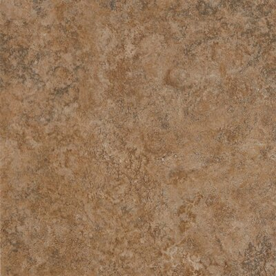 "Armstrong Alterna Multistone 16"" x 16"" Vinyl Tile in Terracotta"