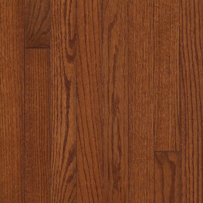"Armstrong Somerset Plank 3-1/4"" Solid Oak Flooring in Large Benedictine"