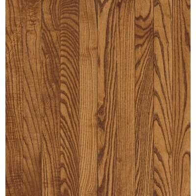 Bruce Flooring SAMPLE - Natural Choice™ Strip Solid Light / Dark Ash in Gunstock