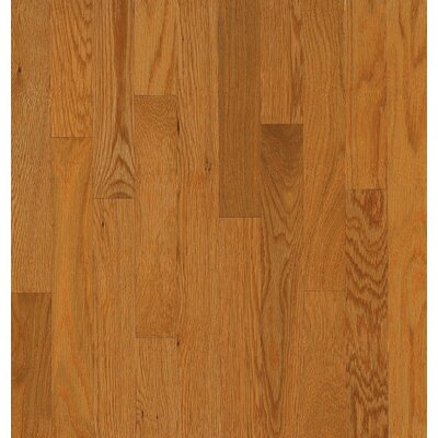 Bruce Flooring SAMPLE - Dundee™ Strip Solid White Oak in Butter Rum