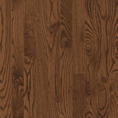 "Bruce Flooring Bristol 2-1/4"" Solid Red / White Oak Flooring in Saddle"