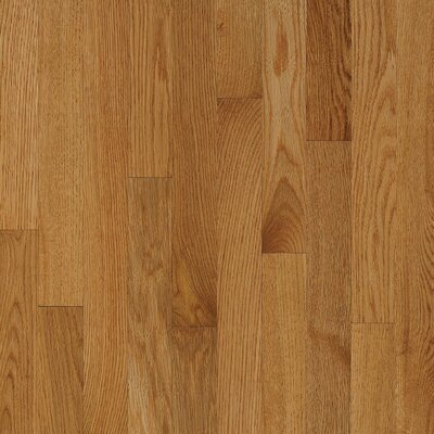 "Bruce Flooring Natural Choice Strip 2-1/4"" Solid White Oak Flooring in Desert Natural"