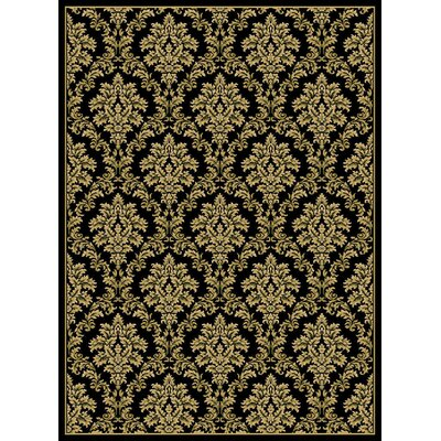 Central Oriental Gallery Damask Rug (Set of 4)
