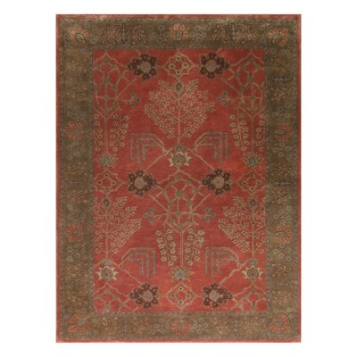 Poeme Chambery Orange Rust/Gold Brown Rug
