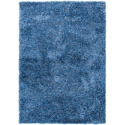 Tribeca Blue Solid Rug