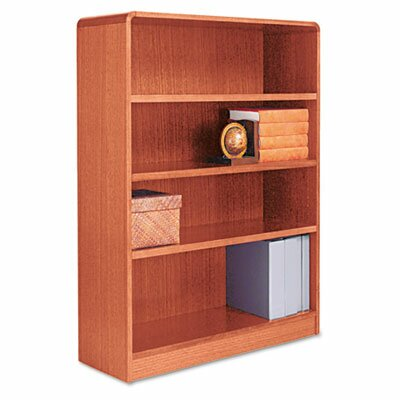 Alera® Four-shelf Radius Corner Bookcase