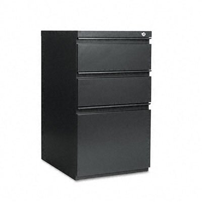 "Alera® 19.25"" Three-Drawer Mobile Pedestal File with Full-Length Pull"