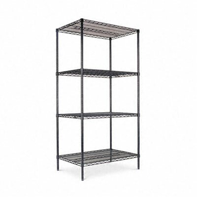 "Alera® Four-shelf 36"" W x 24"" D Industrial Wire Shelving Starter Kit"