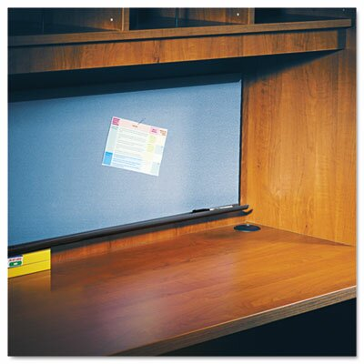 "Alera® 66"" Tackboard for Open Storage Hutch in Charcoal"